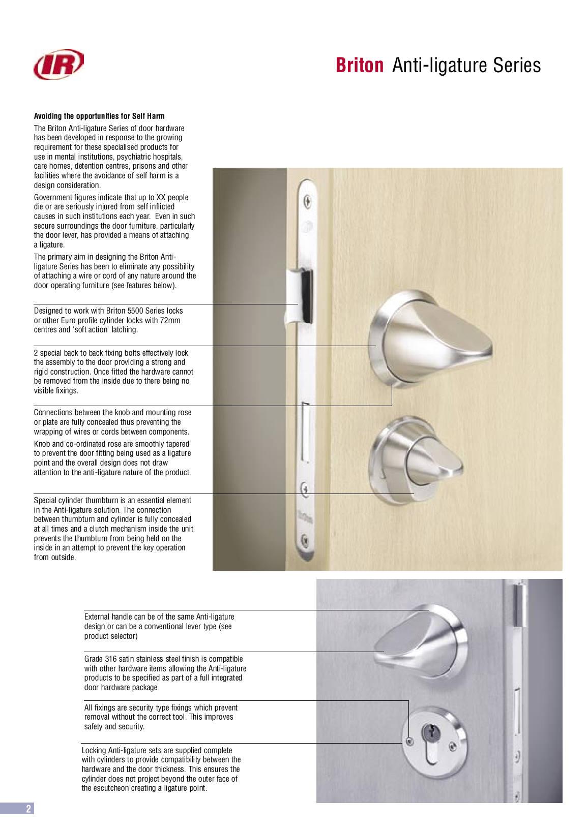AFS stock a large range of high quality anti ligature locks