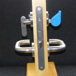 Securefast facilitates the easier use of a combination Anti Ligature Lever Handles.